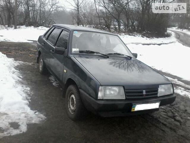 Зеленый ВАЗ 21099, объемом двигателя 1.49 л и пробегом 104 тыс. км за 2550 $, фото 1 на Automoto.ua