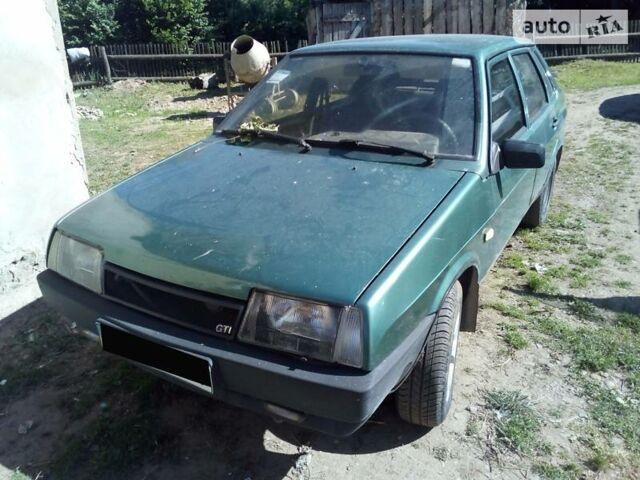 Зеленый ВАЗ 21099, объемом двигателя 1.5 л и пробегом 2 тыс. км за 2700 $, фото 1 на Automoto.ua