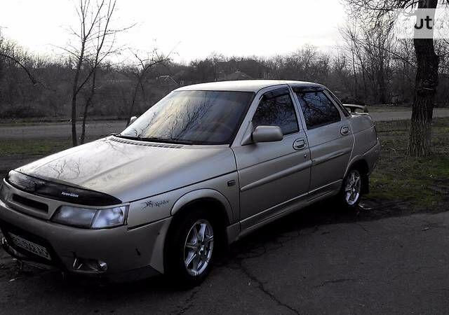 Бежевый ВАЗ 2110, объемом двигателя 1.5 л и пробегом 260 тыс. км за 3000 $, фото 1 на Automoto.ua