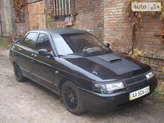 Черный ВАЗ 2110, объемом двигателя 1.6 л и пробегом 160 тыс. км за 3500 $, фото 1 на Automoto.ua