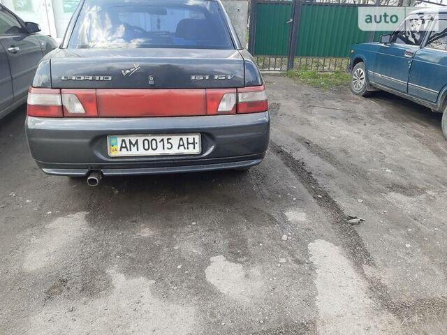 Черный ВАЗ 2110, объемом двигателя 1.6 л и пробегом 108 тыс. км за 3300 $, фото 1 на Automoto.ua
