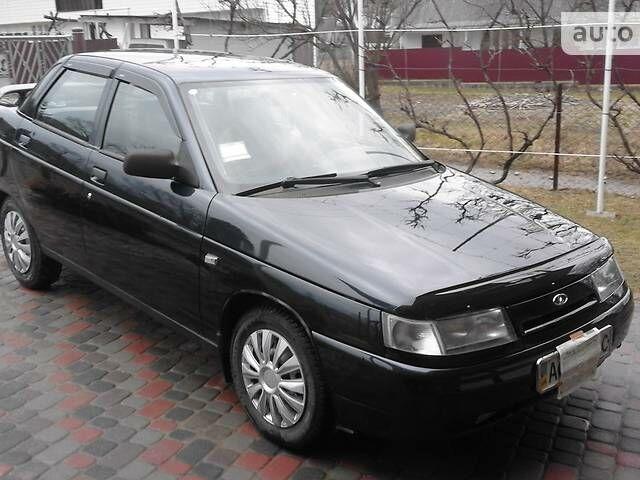 Черный ВАЗ 2110, объемом двигателя 1.6 л и пробегом 115 тыс. км за 2900 $, фото 1 на Automoto.ua