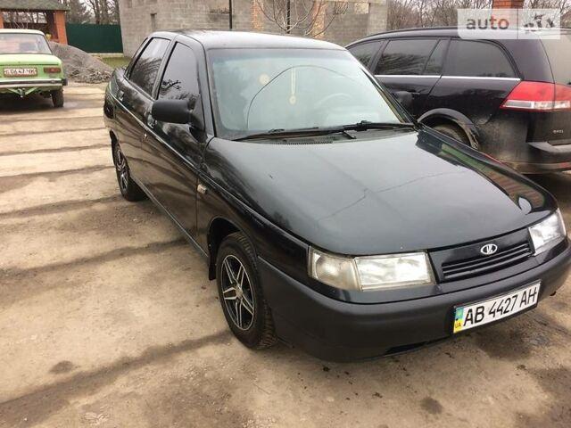 Черный ВАЗ 2110, объемом двигателя 1.6 л и пробегом 176 тыс. км за 2500 $, фото 1 на Automoto.ua
