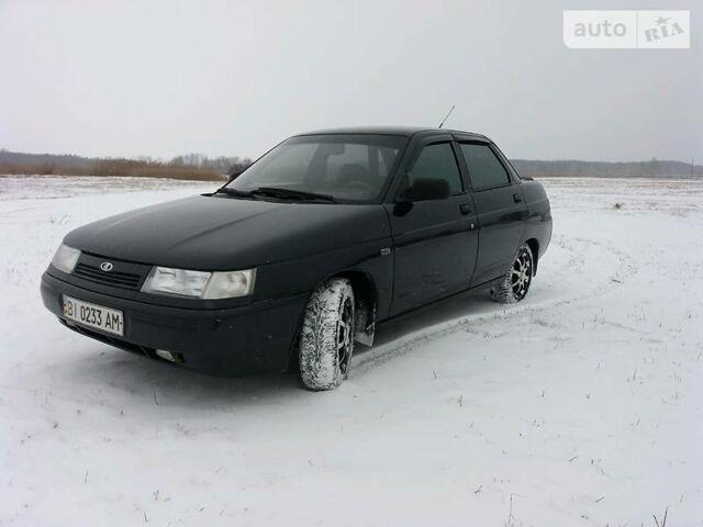 Черный ВАЗ 2110, объемом двигателя 1.6 л и пробегом 132 тыс. км за 3700 $, фото 1 на Automoto.ua