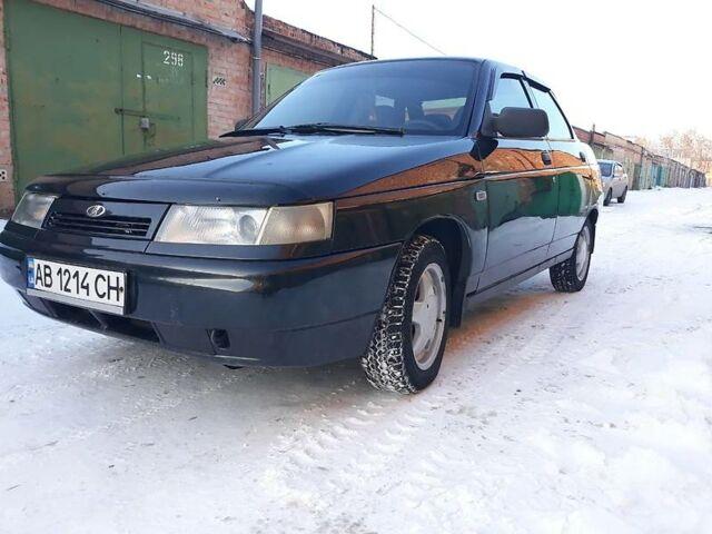 Черный ВАЗ 2110, объемом двигателя 1.6 л и пробегом 107 тыс. км за 3750 $, фото 1 на Automoto.ua