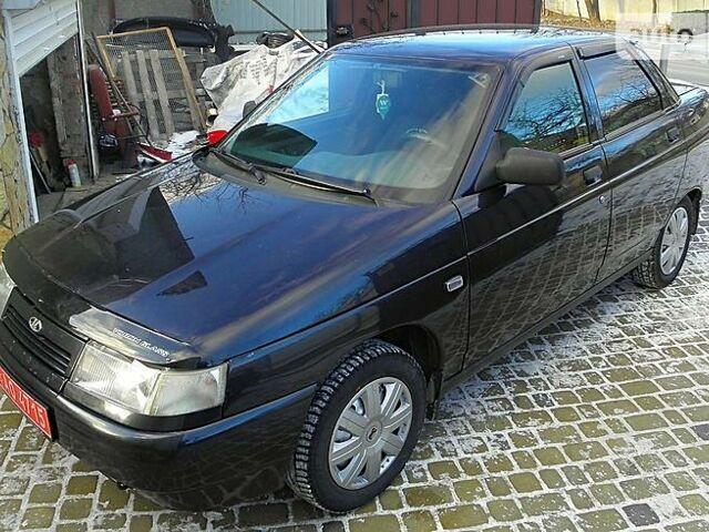 Чорний ВАЗ 2110, об'ємом двигуна 1.6 л та пробігом 131 тис. км за 3850 $, фото 1 на Automoto.ua