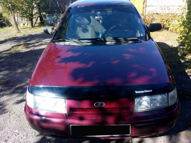 Красный ВАЗ 2110, объемом двигателя 1.6 л и пробегом 190 тыс. км за 3100 $, фото 1 на Automoto.ua