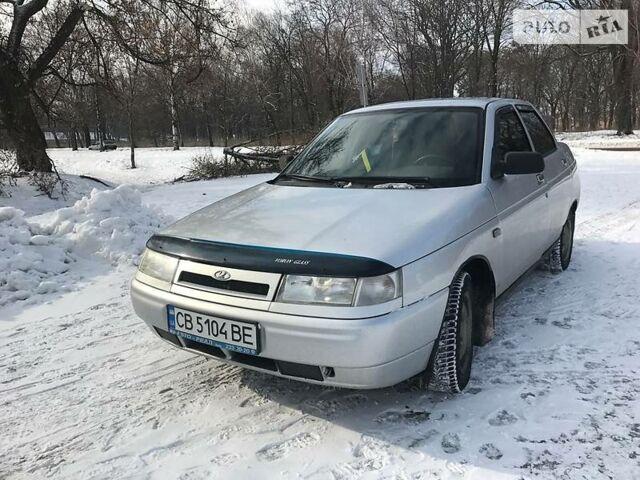 Срібний ВАЗ 2110, об'ємом двигуна 1.6 л та пробігом 170 тис. км за 3300 $, фото 1 на Automoto.ua