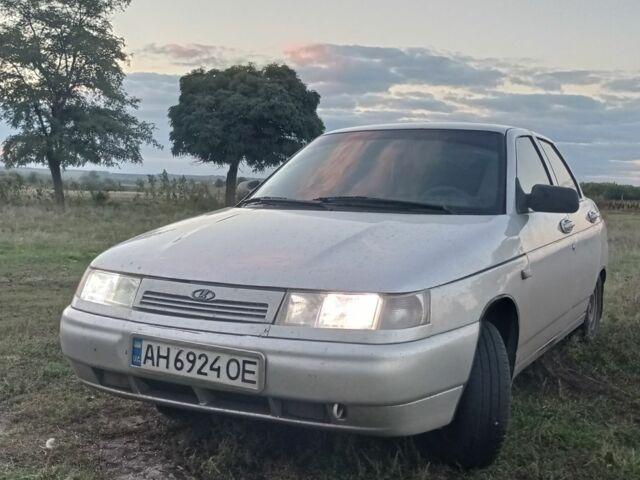 Серый ВАЗ 2110, объемом двигателя 1.6 л и пробегом 1000 тыс. км за 3000 $, фото 1 на Automoto.ua