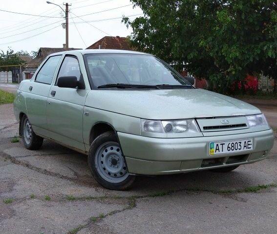 Серый ВАЗ 2110, объемом двигателя 1.6 л и пробегом 198 тыс. км за 2800 $, фото 1 на Automoto.ua