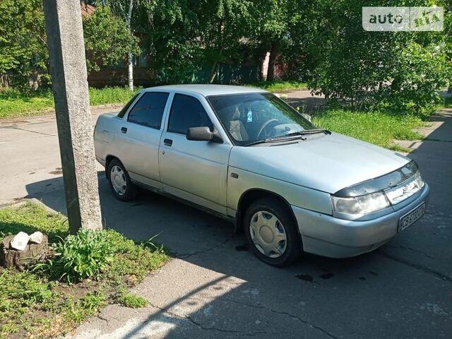 Серый ВАЗ 2110, объемом двигателя 1.6 л и пробегом 240 тыс. км за 2100 $, фото 1 на Automoto.ua