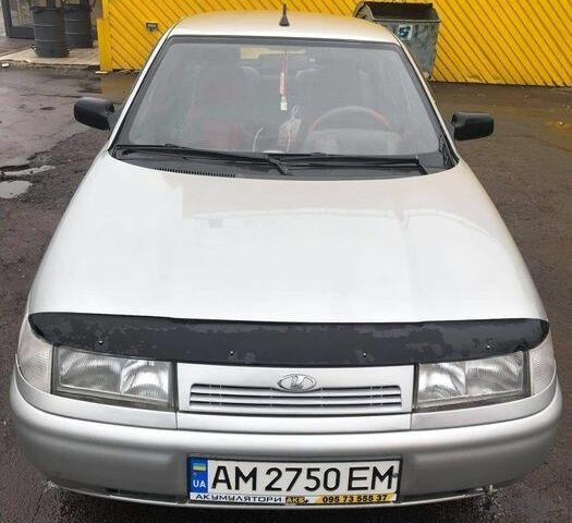 Серый ВАЗ 2110, объемом двигателя 1.6 л и пробегом 160 тыс. км за 3000 $, фото 1 на Automoto.ua