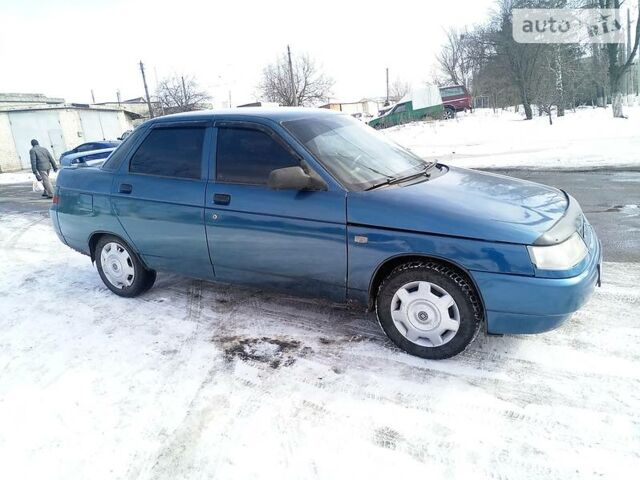 Синий ВАЗ 2110, объемом двигателя 1.5 л и пробегом 168 тыс. км за 2950 $, фото 1 на Automoto.ua