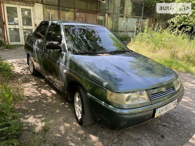 Зеленый ВАЗ 2110, объемом двигателя 1.6 л и пробегом 124 тыс. км за 3400 $, фото 1 на Automoto.ua