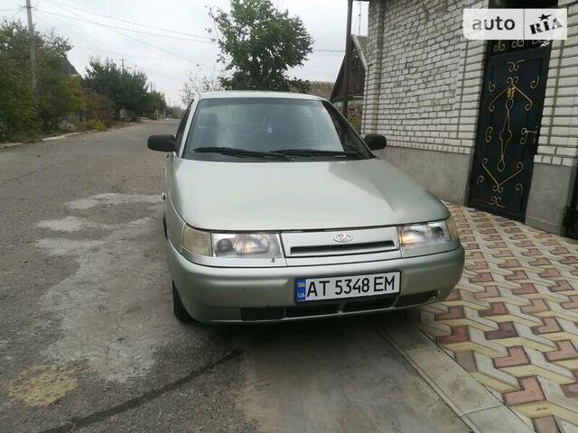 Зеленый ВАЗ 2110, объемом двигателя 1.6 л и пробегом 165 тыс. км за 2750 $, фото 1 на Automoto.ua