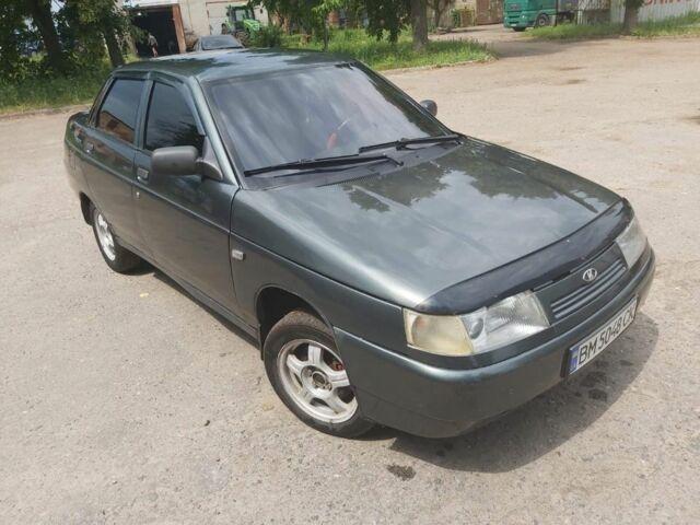 Зеленый ВАЗ 2110, объемом двигателя 1.6 л и пробегом 254 тыс. км за 2750 $, фото 1 на Automoto.ua