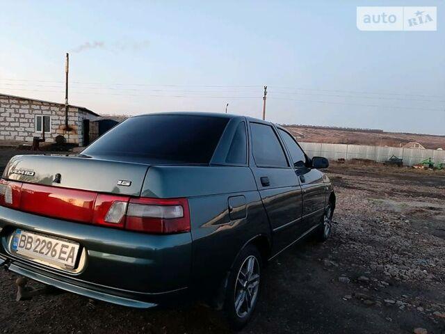 Зеленый ВАЗ 2110, объемом двигателя 0 л и пробегом 99 тыс. км за 3950 $, фото 1 на Automoto.ua