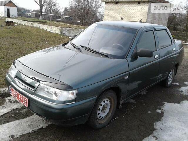 Зелений ВАЗ 2110, об'ємом двигуна 1.6 л та пробігом 80 тис. км за 3400 $, фото 1 на Automoto.ua