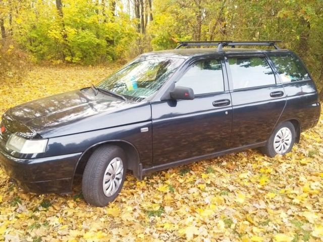 Черный ВАЗ 2111, объемом двигателя 1.6 л и пробегом 120 тыс. км за 3150 $, фото 1 на Automoto.ua