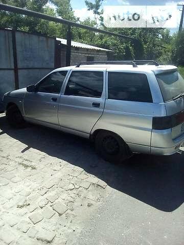 Серебряный ВАЗ 2111, объемом двигателя 1.6 л и пробегом 225 тыс. км за 3100 $, фото 1 на Automoto.ua