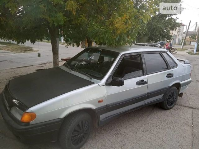 Серый ВАЗ 2111, объемом двигателя 1.5 л и пробегом 200 тыс. км за 1650 $, фото 1 на Automoto.ua