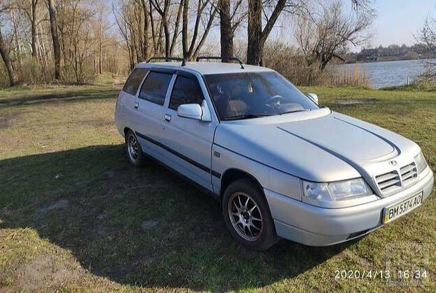 Серый ВАЗ 2111, объемом двигателя 1.5 л и пробегом 164 тыс. км за 3800 $, фото 1 на Automoto.ua