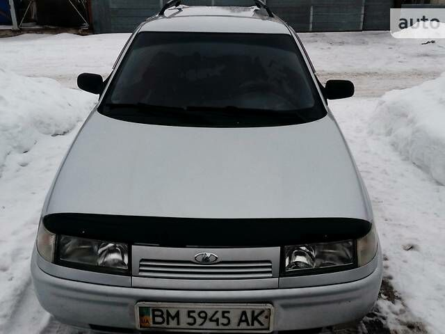 Серый ВАЗ 2111, объемом двигателя 1.6 л и пробегом 115 тыс. км за 3850 $, фото 1 на Automoto.ua