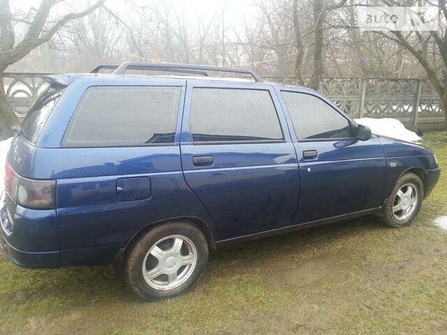 Синий ВАЗ 2111, объемом двигателя 1.6 л и пробегом 72 тыс. км за 4600 $, фото 1 на Automoto.ua