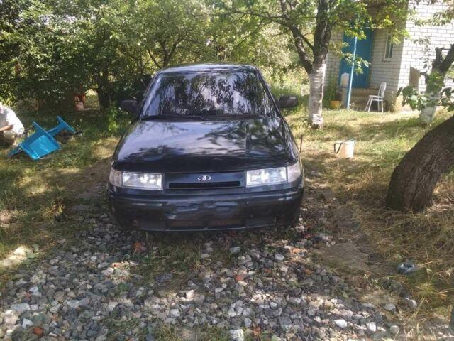 Черный ВАЗ 2112, объемом двигателя 1.6 л и пробегом 130 тыс. км за 2600 $, фото 1 на Automoto.ua
