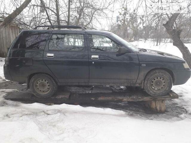 Черный ВАЗ 2112, объемом двигателя 1.6 л и пробегом 153 тыс. км за 3500 $, фото 1 на Automoto.ua