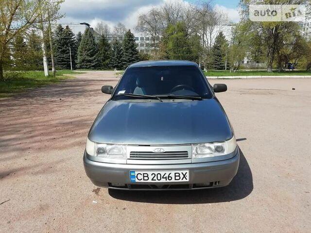 Серый ВАЗ 2112, объемом двигателя 1.6 л и пробегом 193 тыс. км за 3000 $, фото 1 на Automoto.ua
