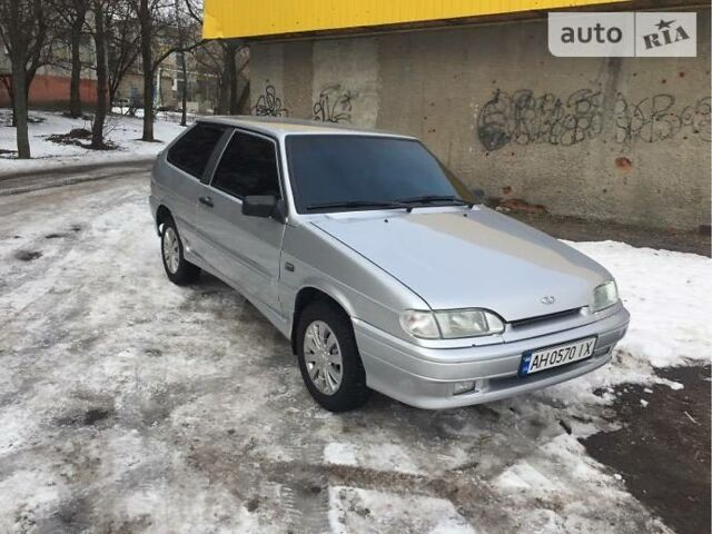 Серый ВАЗ 2113, объемом двигателя 1.6 л и пробегом 100 тыс. км за 3300 $, фото 1 на Automoto.ua