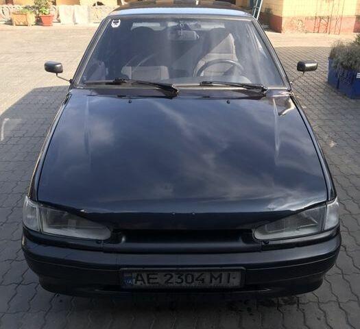 Черный ВАЗ 2114, объемом двигателя 1.5 л и пробегом 130 тыс. км за 3200 $, фото 1 на Automoto.ua