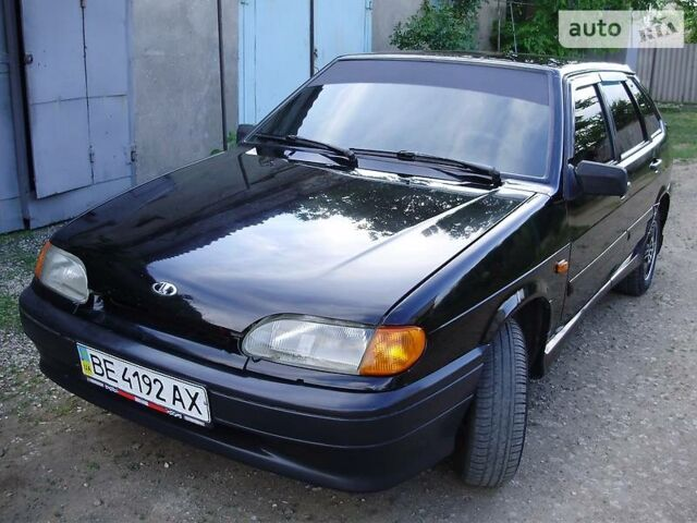 Черный ВАЗ 2114, объемом двигателя 1.6 л и пробегом 150 тыс. км за 3450 $, фото 1 на Automoto.ua