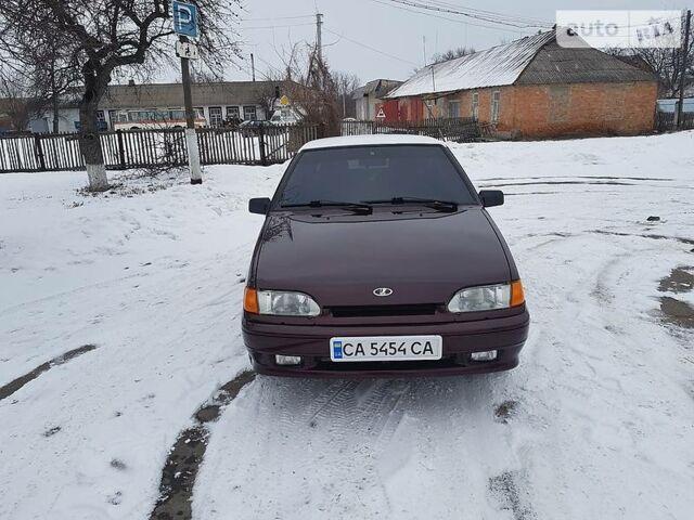 Гранатовий ВАЗ 2114, об'ємом двигуна 1.6 л та пробігом 45 тис. км за 5450 $, фото 1 на Automoto.ua