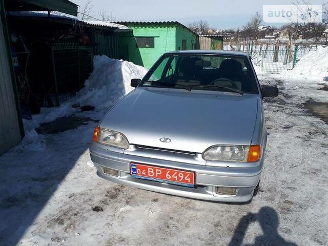 Серебряный ВАЗ 2114, объемом двигателя 1.6 л и пробегом 58 тыс. км за 4500 $, фото 1 на Automoto.ua