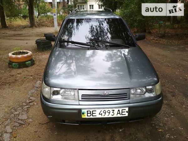 Серый ВАЗ 2114, объемом двигателя 1.6 л и пробегом 300 тыс. км за 2800 $, фото 1 на Automoto.ua