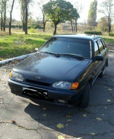 Черный ВАЗ 2115, объемом двигателя 1.6 л и пробегом 140 тыс. км за 3600 $, фото 1 на Automoto.ua