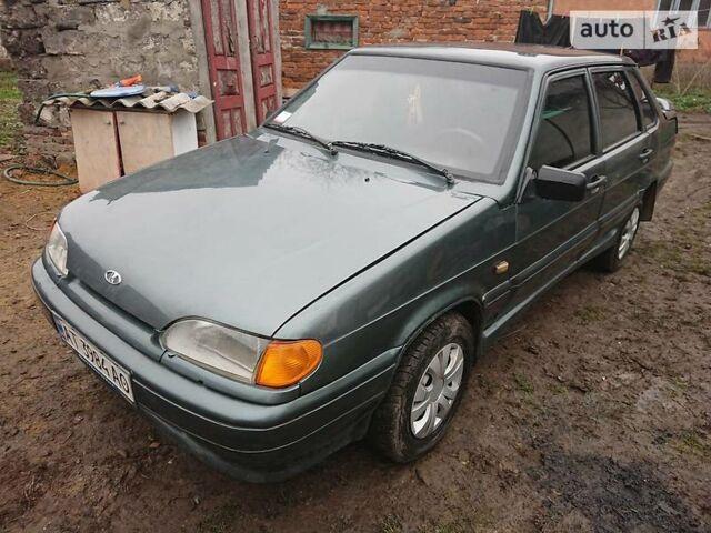Зеленый ВАЗ 2115, объемом двигателя 1.6 л и пробегом 200 тыс. км за 2500 $, фото 1 на Automoto.ua