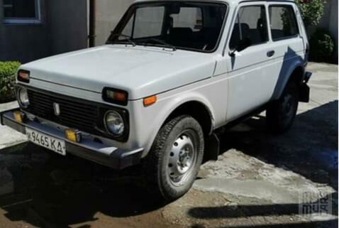 Белый ВАЗ 2121, объемом двигателя 1.6 л и пробегом 41 тыс. км за 2500 $, фото 1 на Automoto.ua