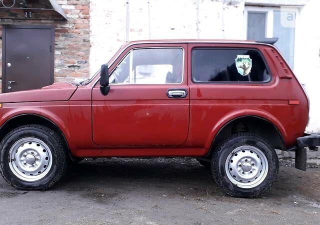 Червоний ВАЗ 2121, об'ємом двигуна 1.6 л та пробігом 40 тис. км за 2400 $, фото 1 на Automoto.ua