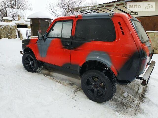 Червоний ВАЗ 2121, об'ємом двигуна 1.7 л та пробігом 40 тис. км за 4500 $, фото 1 на Automoto.ua