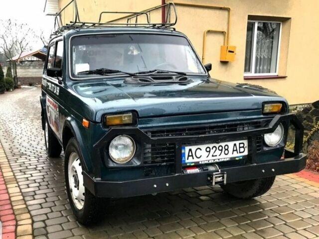 Зеленый ВАЗ 2121, объемом двигателя 1.9 л и пробегом 1 тыс. км за 3497 $, фото 1 на Automoto.ua