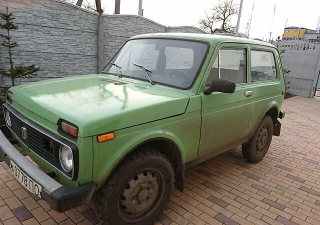 Зелений ВАЗ 2121, об'ємом двигуна 1.6 л та пробігом 77 тис. км за 2650 $, фото 1 на Automoto.ua