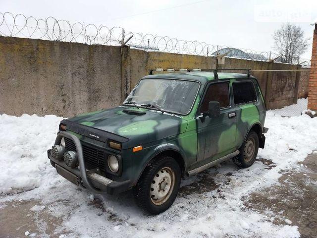 Зеленый ВАЗ 2121, объемом двигателя 1.7 л и пробегом 313 тыс. км за 2700 $, фото 1 на Automoto.ua