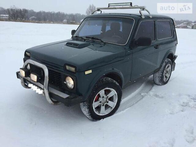 Зеленый ВАЗ 2121, объемом двигателя 1.7 л и пробегом 160 тыс. км за 4100 $, фото 1 на Automoto.ua