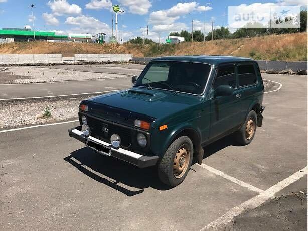 Зеленый ВАЗ 2121, объемом двигателя 0 л и пробегом 95 тыс. км за 4700 $, фото 1 на Automoto.ua