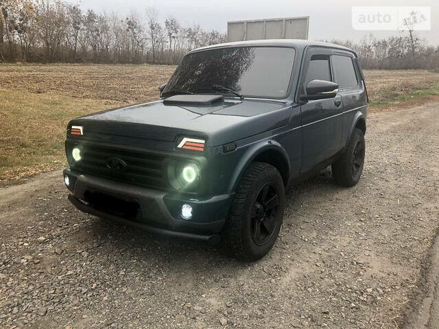 Зеленый ВАЗ 21214, объемом двигателя 1.7 л и пробегом 121 тыс. км за 6200 $, фото 1 на Automoto.ua