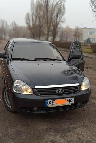Черный ВАЗ 2170, объемом двигателя 1.6 л и пробегом 124 тыс. км за 3749 $, фото 1 на Automoto.ua