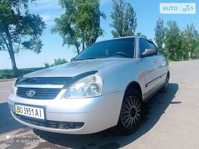 Серый ВАЗ 2170, объемом двигателя 1.6 л и пробегом 200 тыс. км за 3300 $, фото 1 на Automoto.ua
